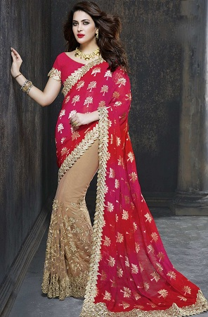 Colorful Designer Saree