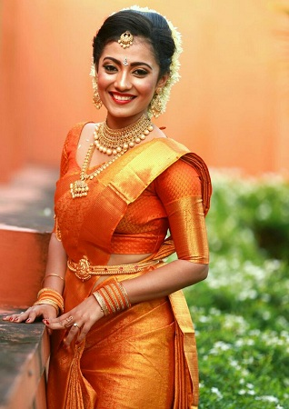 South Indian Saree Drapping