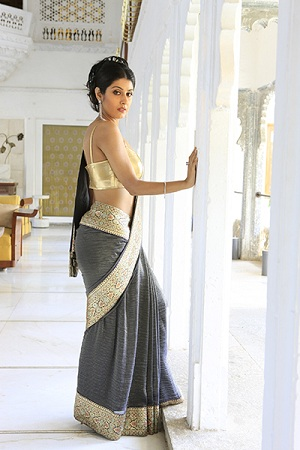 Trendy Saree Draping Style