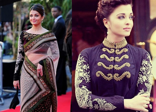 Heavily Embroidered Blouse By Aishwarya Rai