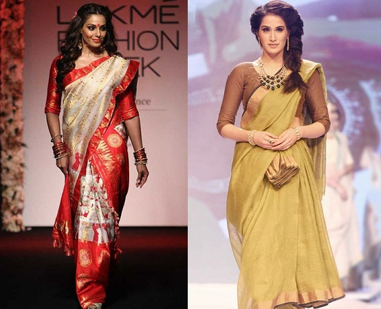 Old Style Of Draping Sarees