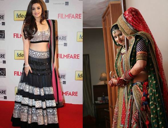 Wear A Bracelet Or Bangles On Lehenga