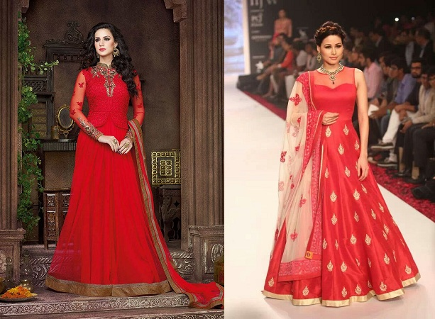 Anarkali Styled Gowns