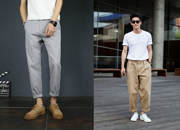 Wide End Trousers
