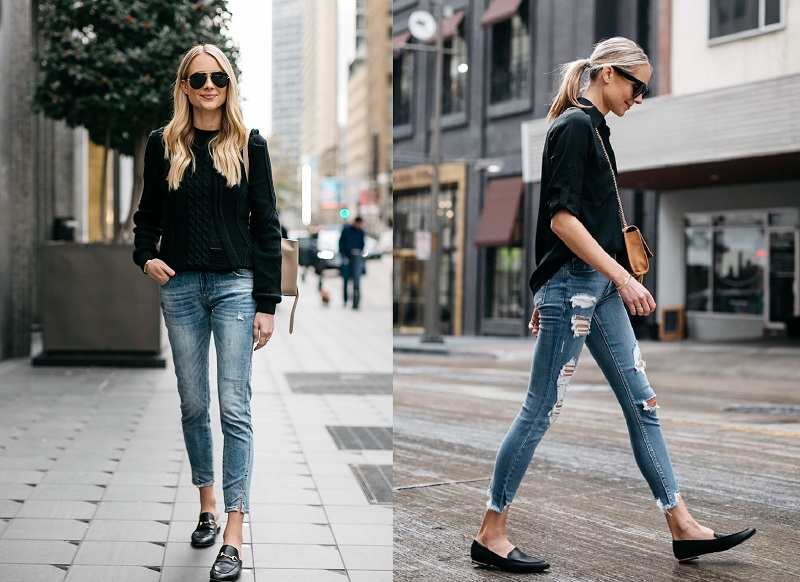Loafers with Skinny Jeans